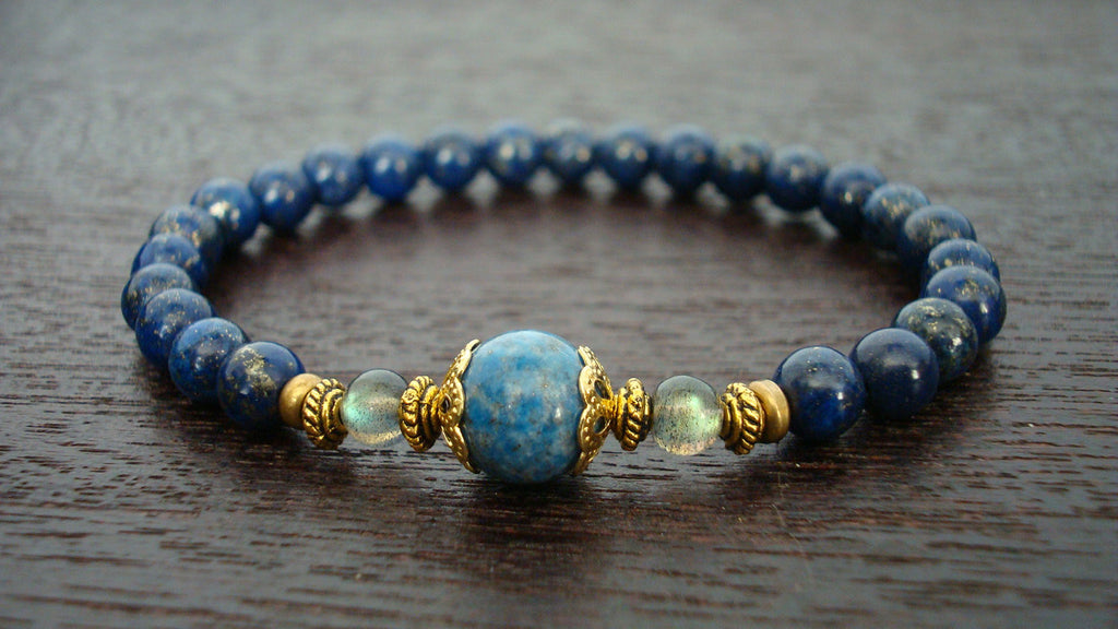 Women's Strength & Intuition Mala Bracelet