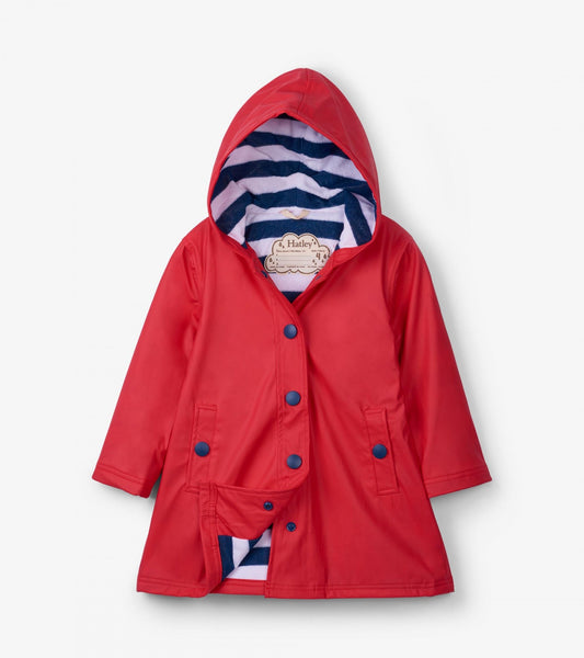 Hatley Red & Navy Splash Jacket