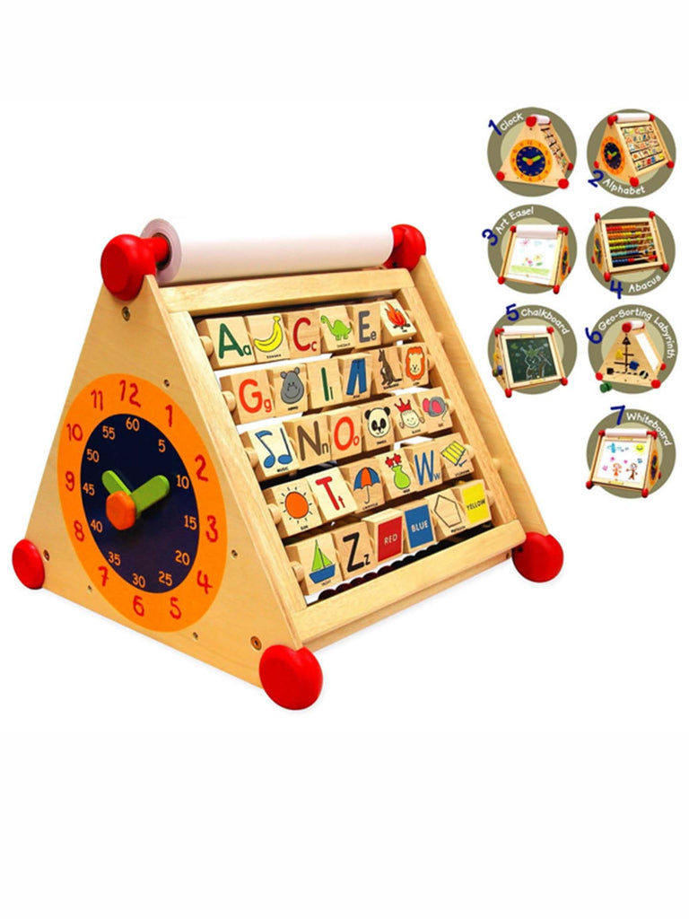 Wooden Activity Centre Toy 7 in 1
