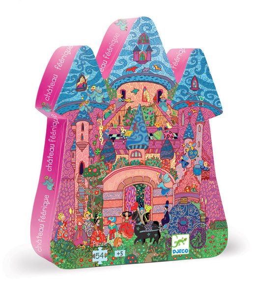 Djeco Fairy Castle Puzzle 54pc