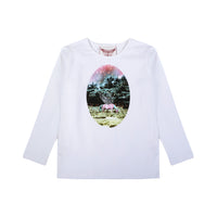Paperwings Girl-Classic Fitted T-Dusk Cameo