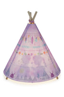 Teepee Lamp Blue