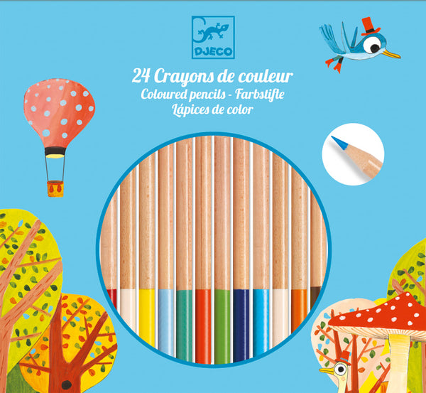Djeco Coloured Pencils 24pce