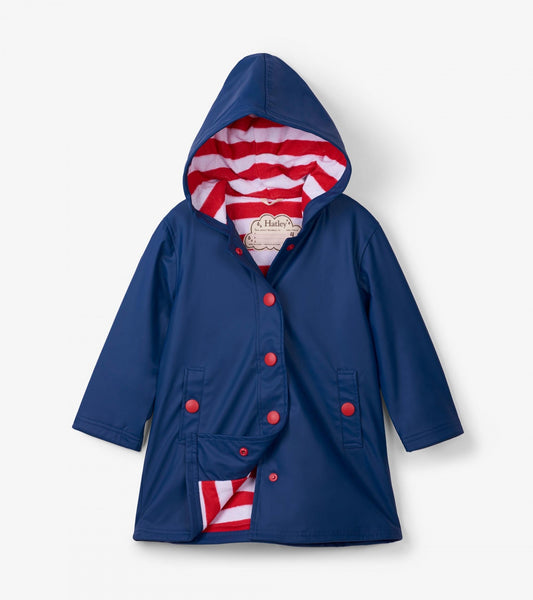 Hatley Navy & Red Splash Jacket