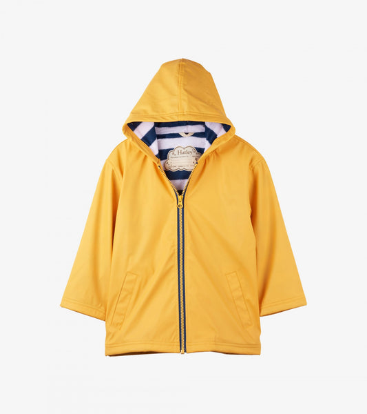 Hatley Yellow & Navy Splash Jacket