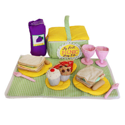 Soft Picnic Playset childrens toy Byron Bay