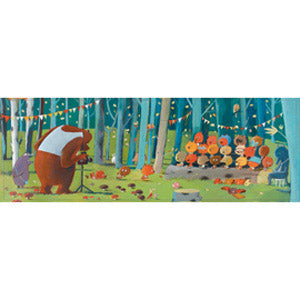 Djeco Puzzle Gallery- Forest Friends 100pc