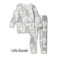 Wilson & Frenchy Winter Little Wander Organic Pyjama Set