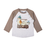 Little Wings Boy -Raglan T-Day Trippers