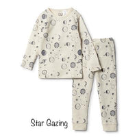 Wilson & Frenchy Star Gazing Winter Organic Pyjama Set