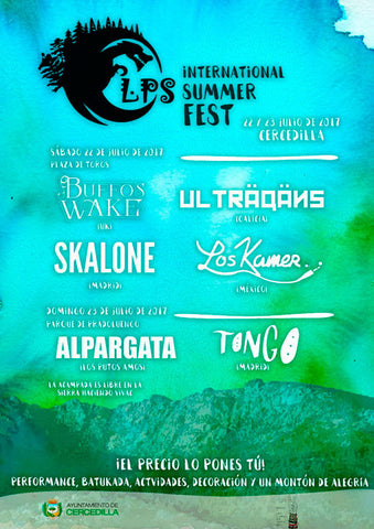 LPS International Summer Fest 22 y 23 de Julio en Cercedilla