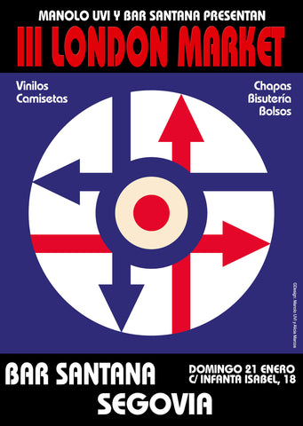 Este domingo 3º London Market en Segovia!!