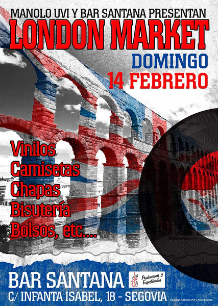 Domingo 14 de Febreri, London Market en Segovia
