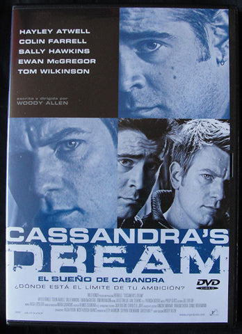 CASSANDRA'S DREAM - DVD - WOODY ALLEN -