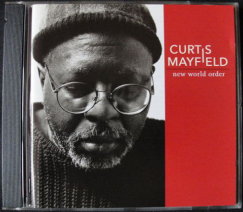 CURTIS MAYFIELD - NEW WORLD ORDER - CD - WARNER BROS RECORDS, 1996 -