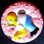 DONUT THE SIMPSONS - BURGER KING KIDS CLUB, 1998 - VINTAGE -