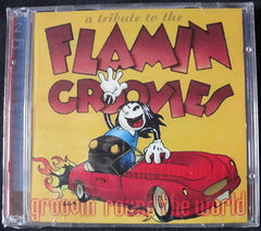 GROOVIN ROUND THE WORLD - A TRIBUTE TO THE FLAMIN GROOVIES - 2 x CD - VARIOS ARTISTAS -