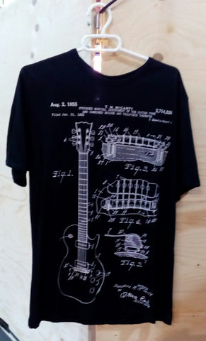 Camiseta S-ponder Guitar McCarty