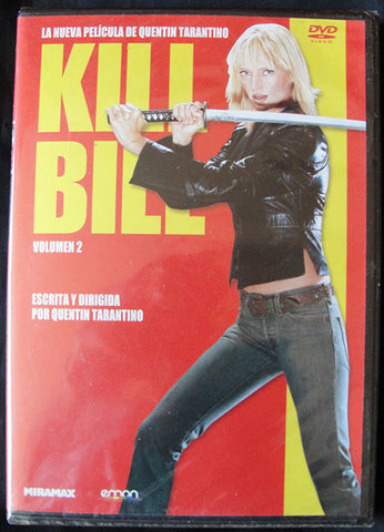 KILL BILL VOLUMEN 2 - DVD - QUENTIN TARANTINO -