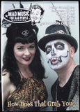 MAD MUSIC FOR BAD PEOPLE MAGAZINE - NUM. 13 - PSYCHOBILLY - EN INGLES -