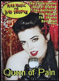 MAD MUSIC FOR BAD PEOPLE MAGAZINE - NUM. 1 - PSYCHOBILLY - EN INGLES -
