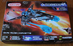 MECCANO SPACE CHAOS DARK PIRATES - DARK RAVEN CORVETTE