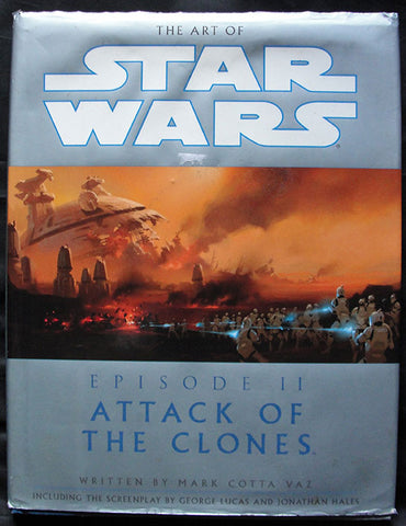 THE ART OF STAR WARS - EPISODE II - ATTACK OF THE CLONES - EN INGLES -