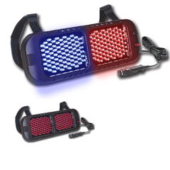 SVP Starvision StarVisor II LED Visor Light RED/BLUE SALE