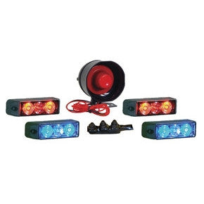 ATV Lights & Siren Kit