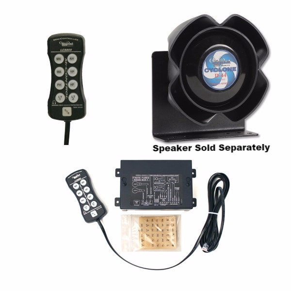Svp Lcs869 Hand Held Siren Lighting Controller And Svp Ss867 Hand Held Siren