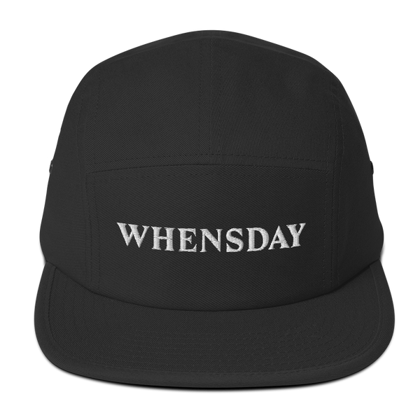 """Whensday"" 5-panel cap"
