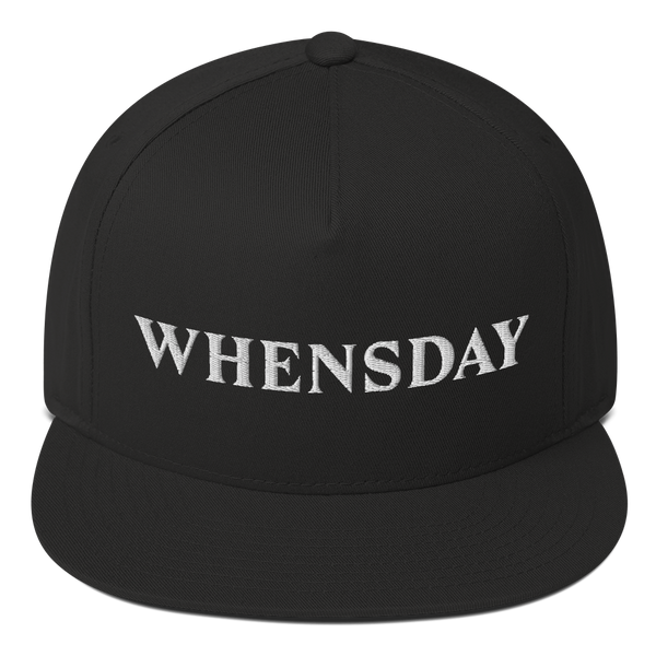 """Whensday"" snapback"