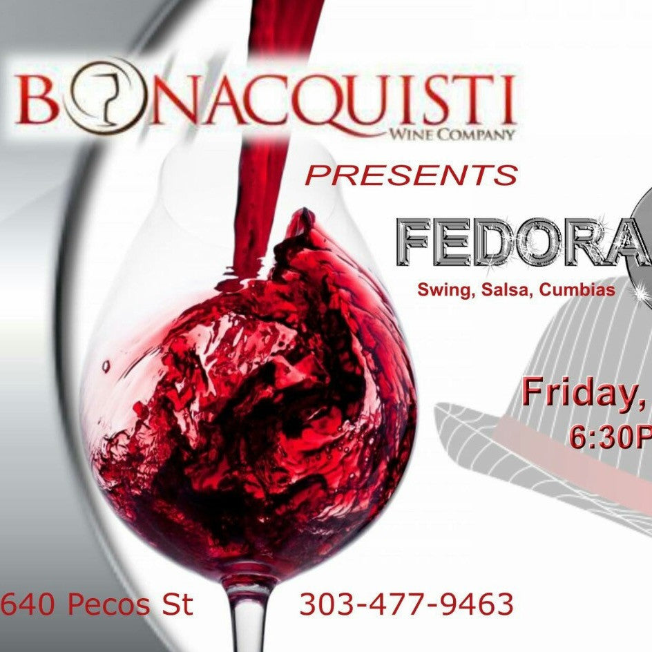 May 27th - Fridays Uncorked featuring The Trio Fedora Nights