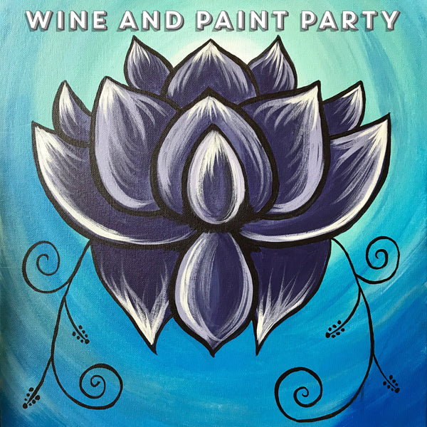 May 13th - Painting and Wine Party