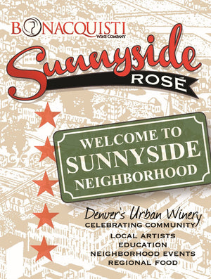 Sunnyside Rose' Label