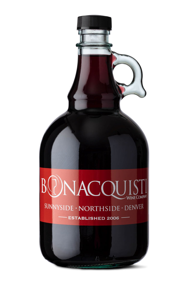 Bonacquisti Wine Growler
