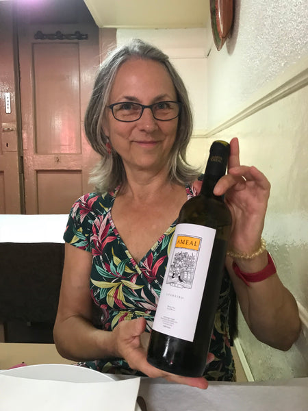 Evi mit Quinta do Ameal