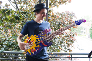 A bass for the Red Hot chili peppers