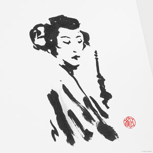 Leia : Geisha - Star Wars