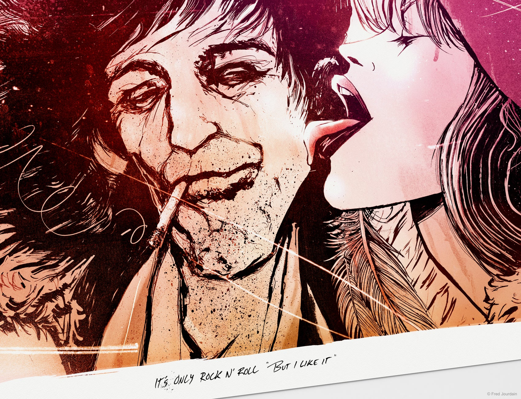 It's only Rock & Roll - Keith Richards & Anita Pallenberg