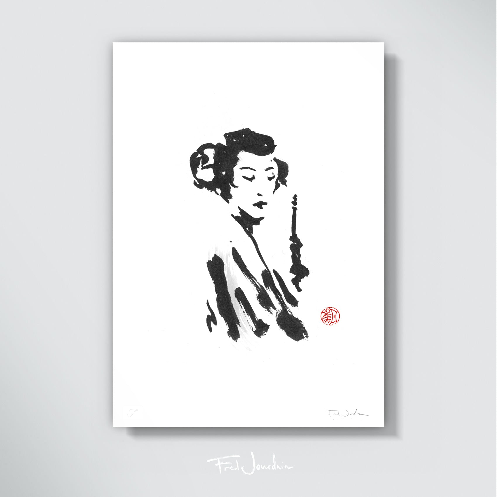 Leia: Geisha - Star Wars