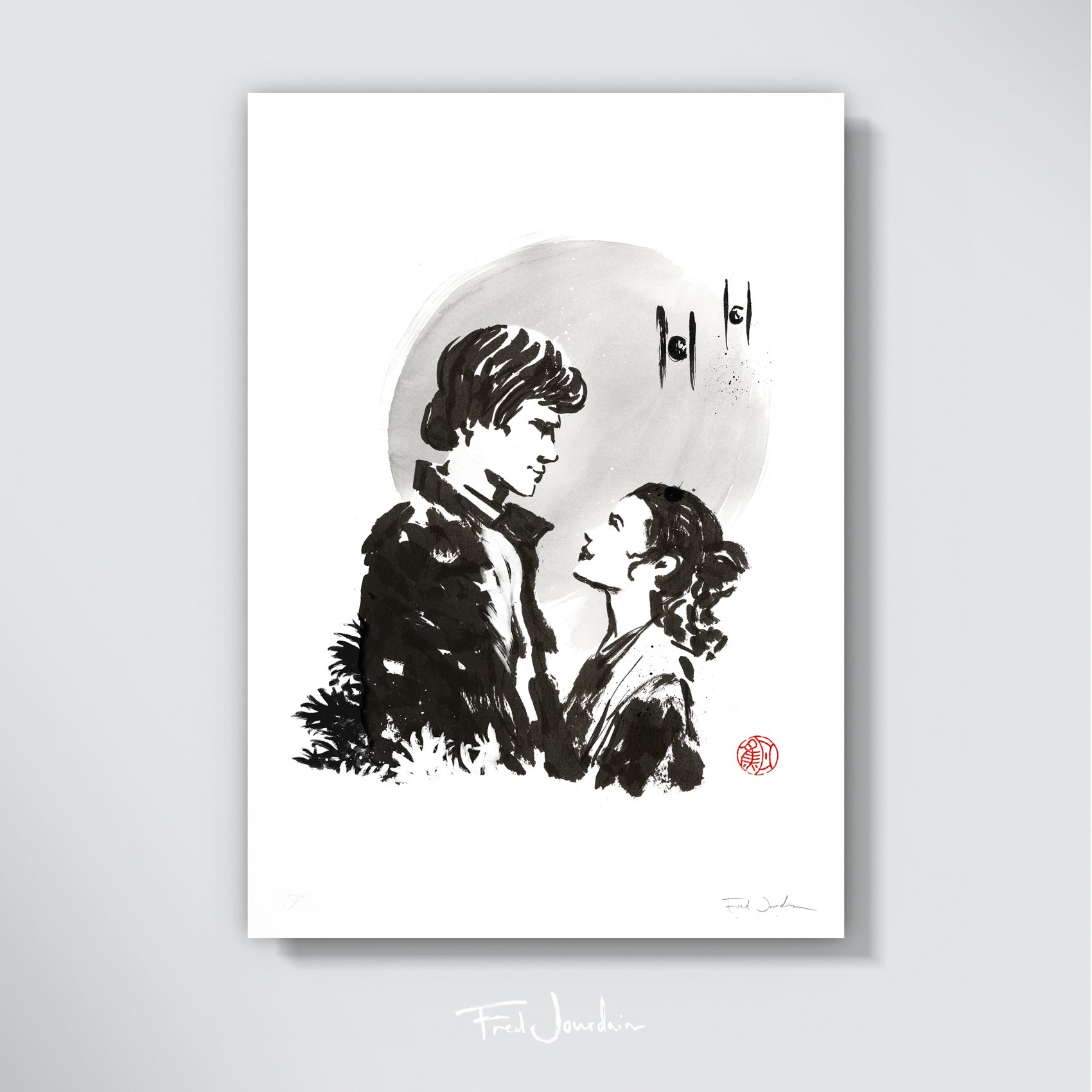 Han & Leia - The Thug and the Princess - Star Wars