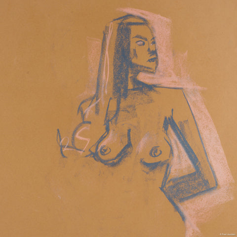 "Invisible Woman - Pastel - 18 ""x 24"""