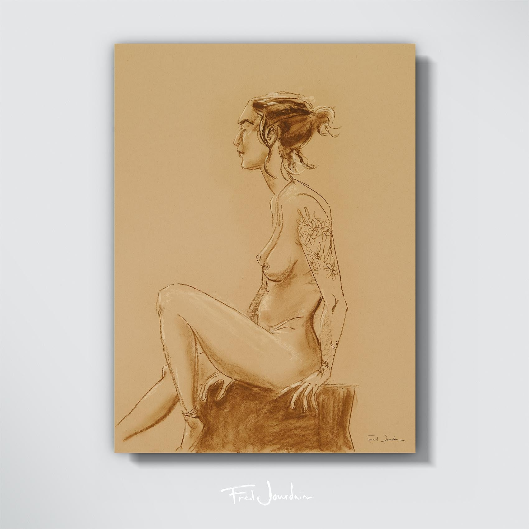 "Assise - Pastel -18"" x 24"""