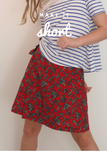 2211 DANA A-line wrap skirt sewing pattern