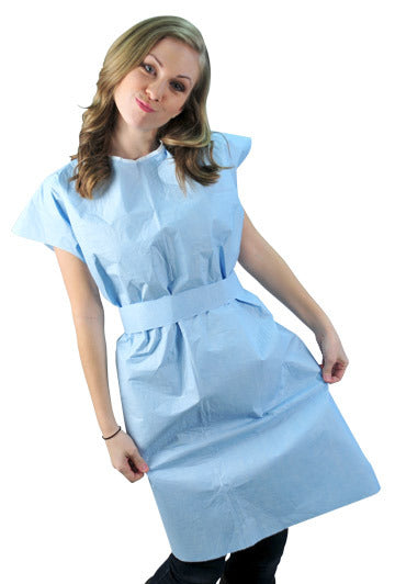 Exam Gowns  tissue/poly Gowns