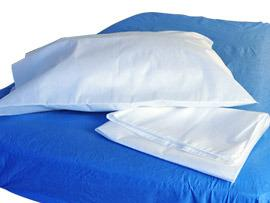 DG701 - Tissue/Poly/Tissue Pillowcase - White