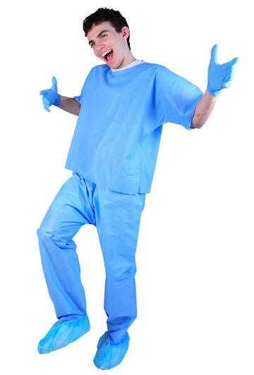 DGAP-6XL - Adult 6XL Blue Scrub Pant