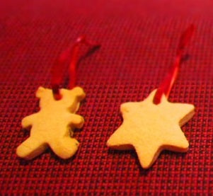 Christmas tree cookies by Julie-Ann Henry