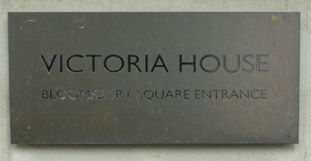 Victoria House Bloomsbury Square